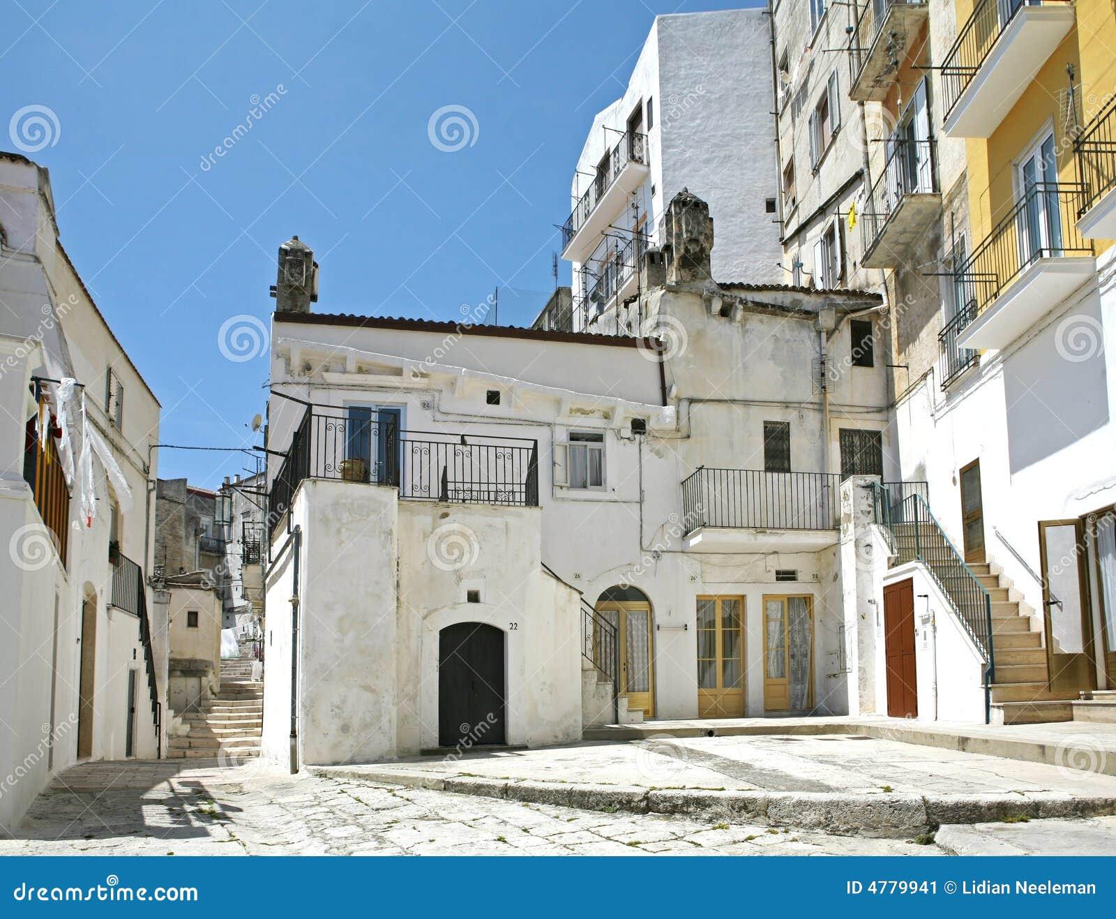 Street Scene In Italy Stock Image. Image Of Village