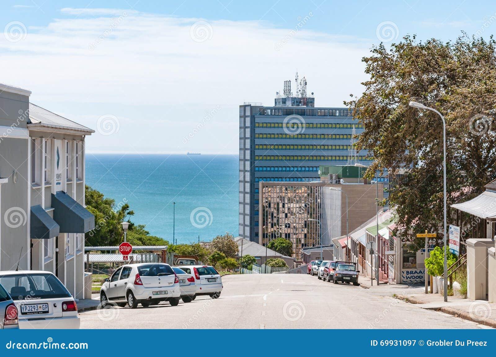 Street scene in port elizabeth editorial photography - Population of port elizabeth south africa ...