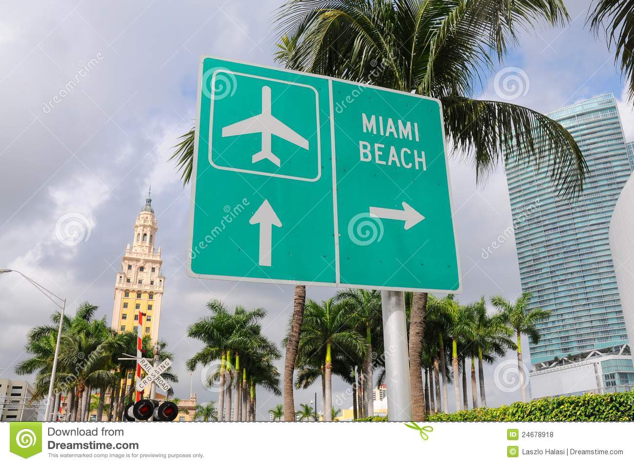 Miami Sign On The Beach Stock Photo - Image: 54394318