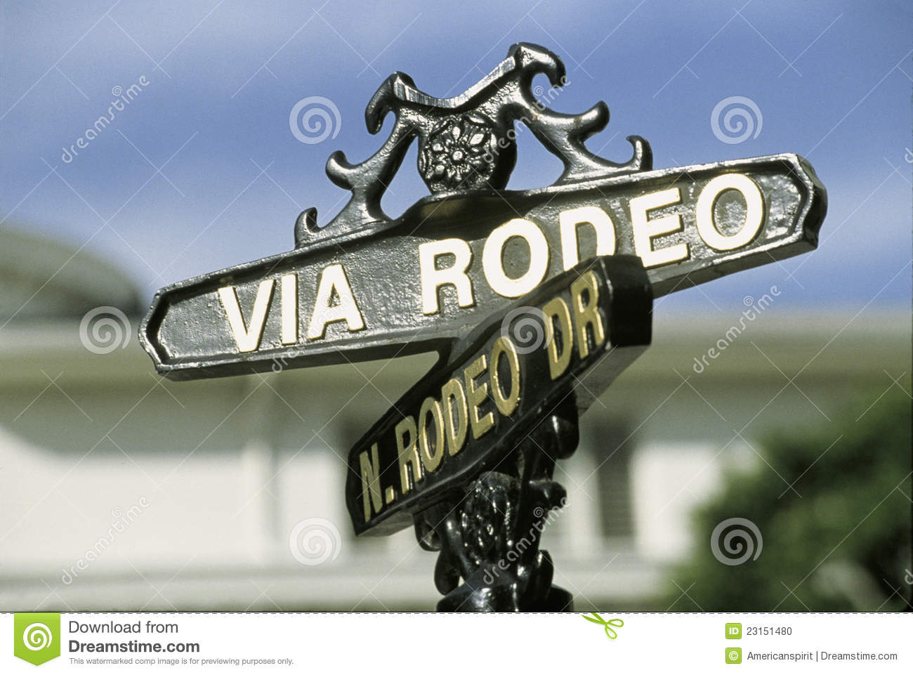 Street sign for rodeo drive beverly hills ca stock photo image street sign for rodeo drive beverly hills ca biocorpaavc