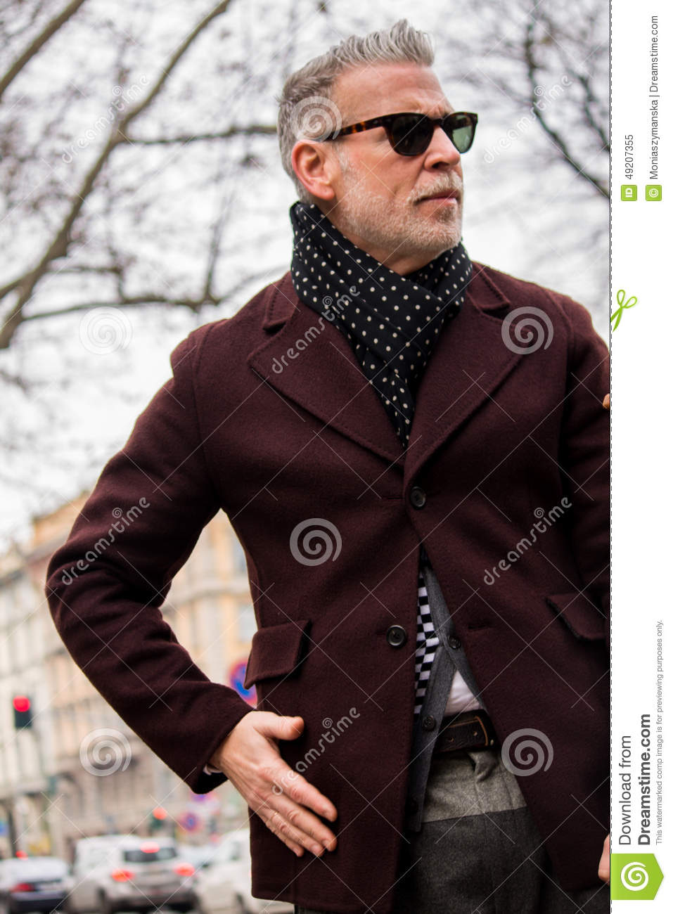 Street Style During Milan Fashion Week For Fall Winter 2015 16 Editorial Image Image 49207355