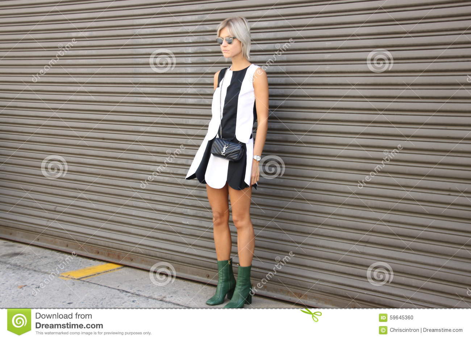 Street Style Spring 2016 New York City Fashionweek Editorial Image Image 59645360