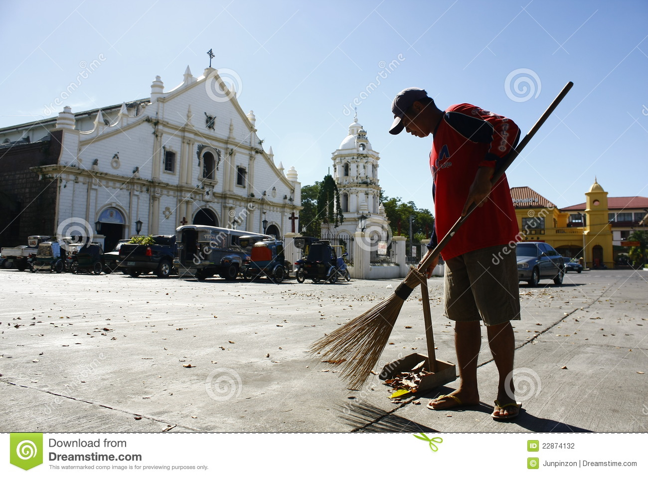 Street Sweeper Editorial Photography Image 22874132