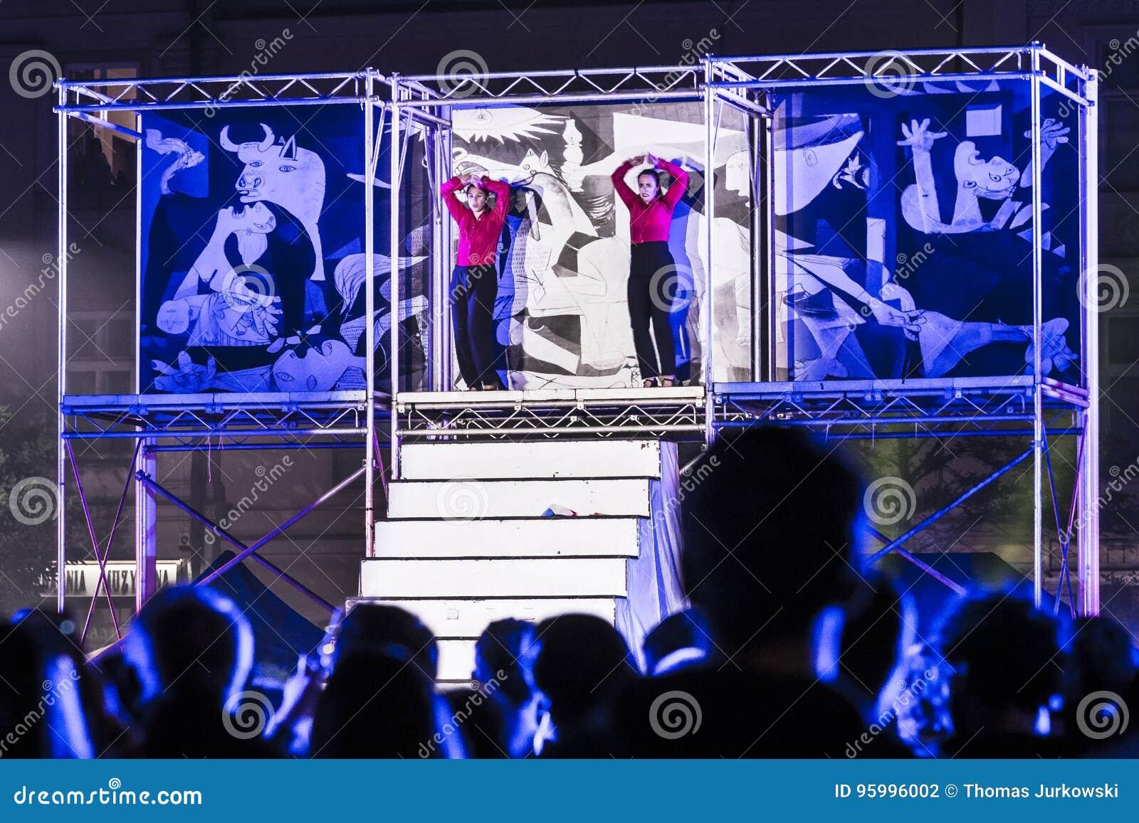 Street Theater festival in Krakow