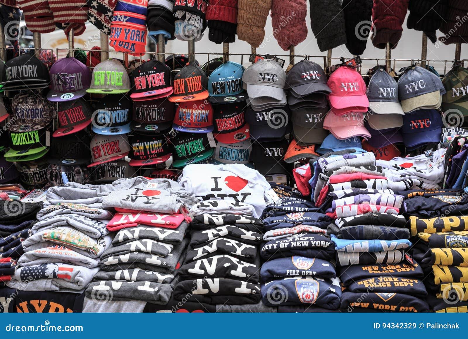 Street trade in New York City