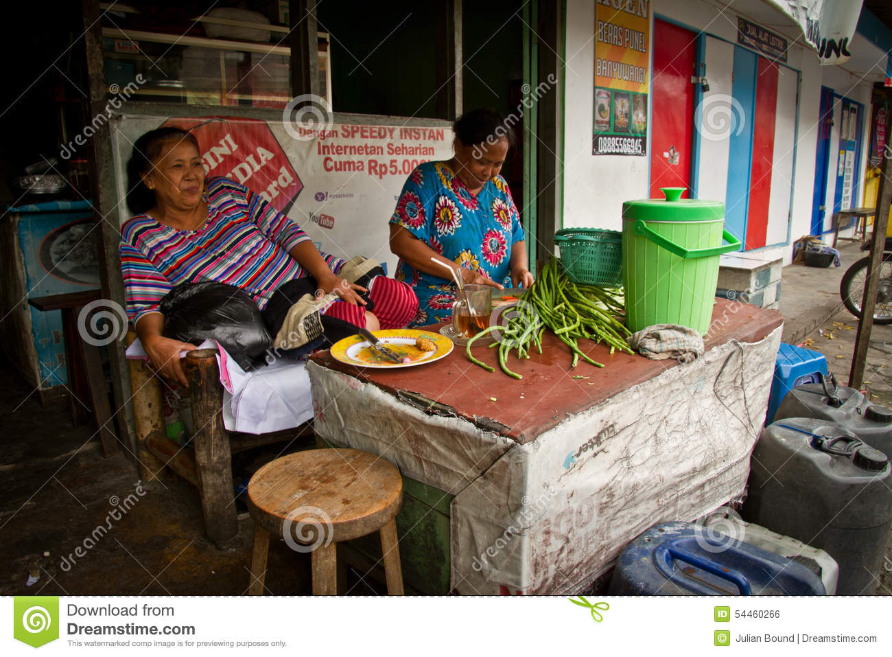 Street Vendors Of Malang Indonesia Editorial Photo Image Of Asia People 54460266
