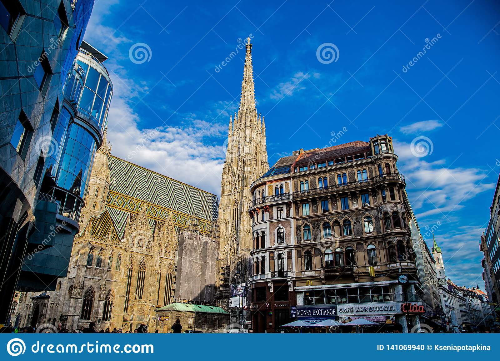 Street of Vienna, see St. Stephen`s Cathedral
