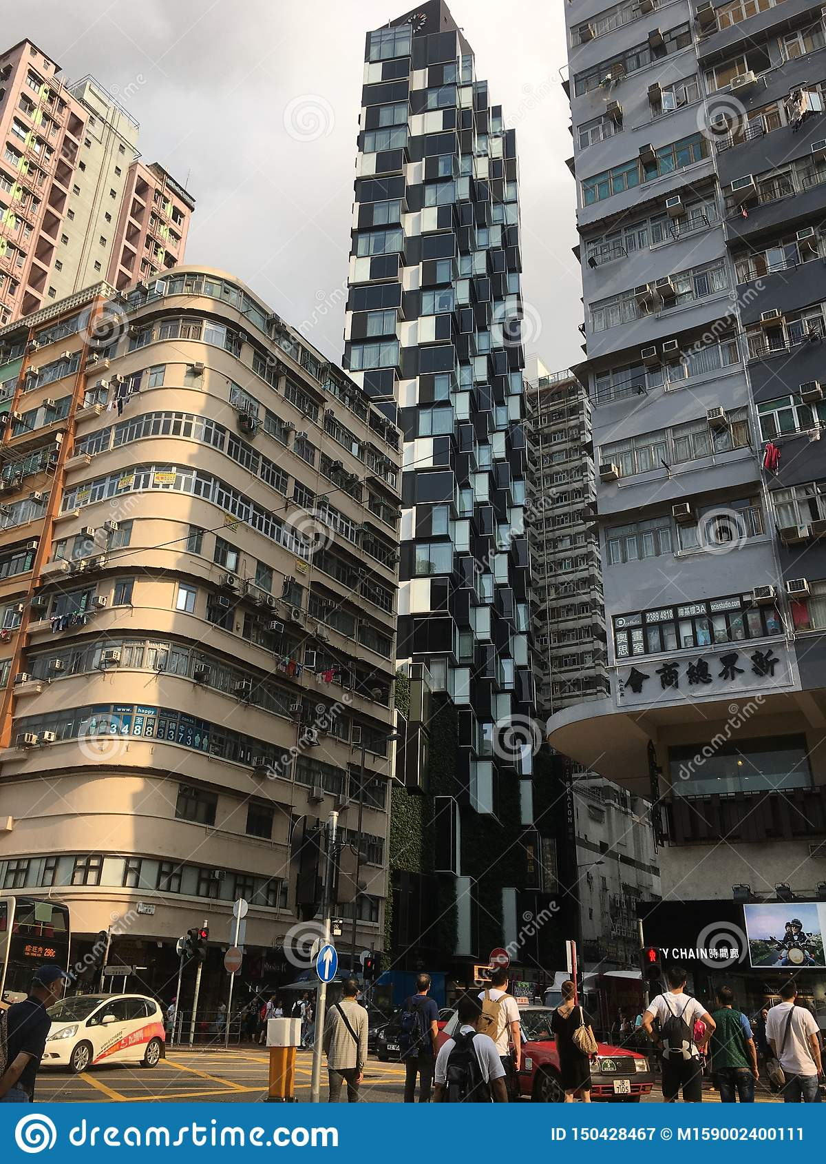 Street View of Hong Kong