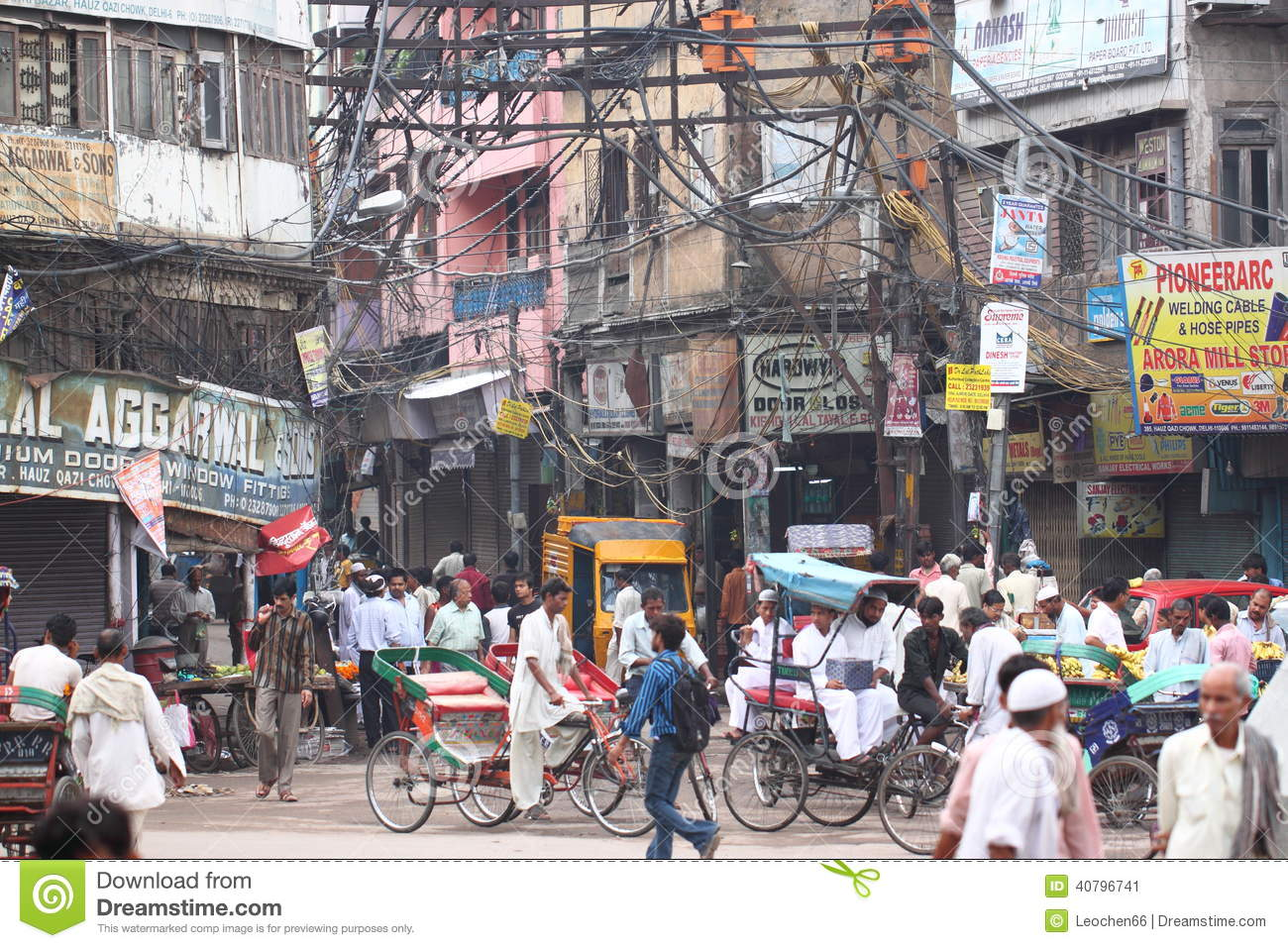 street view in india editorial photo  image of delhi