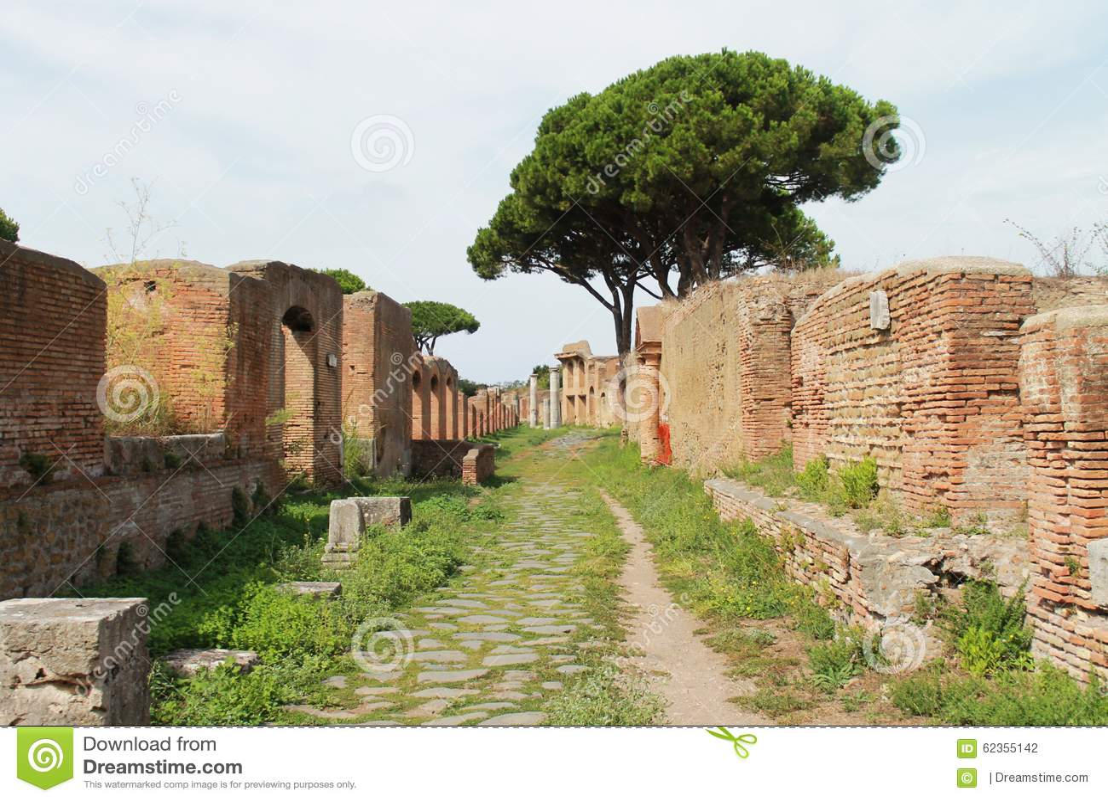 Street view stock photo image 62355142 for Mr arredamenti ostia antica