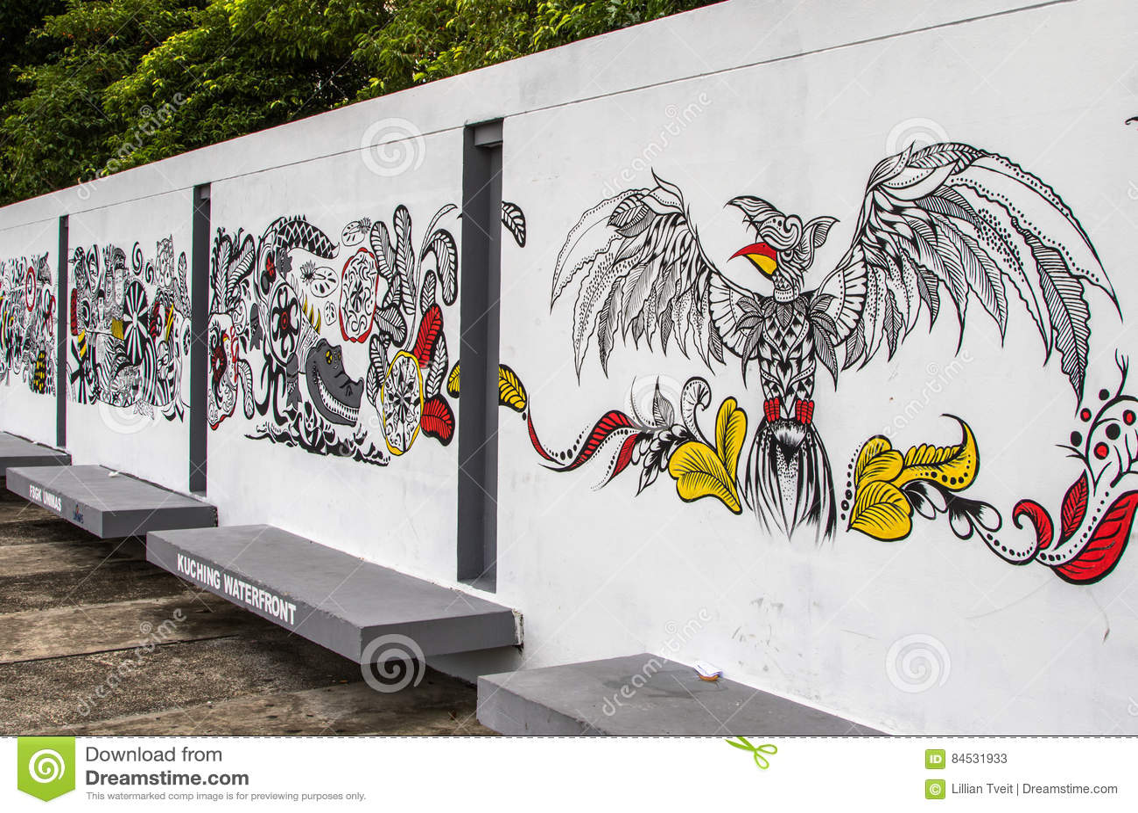 Streetart de Sarawak Kuching