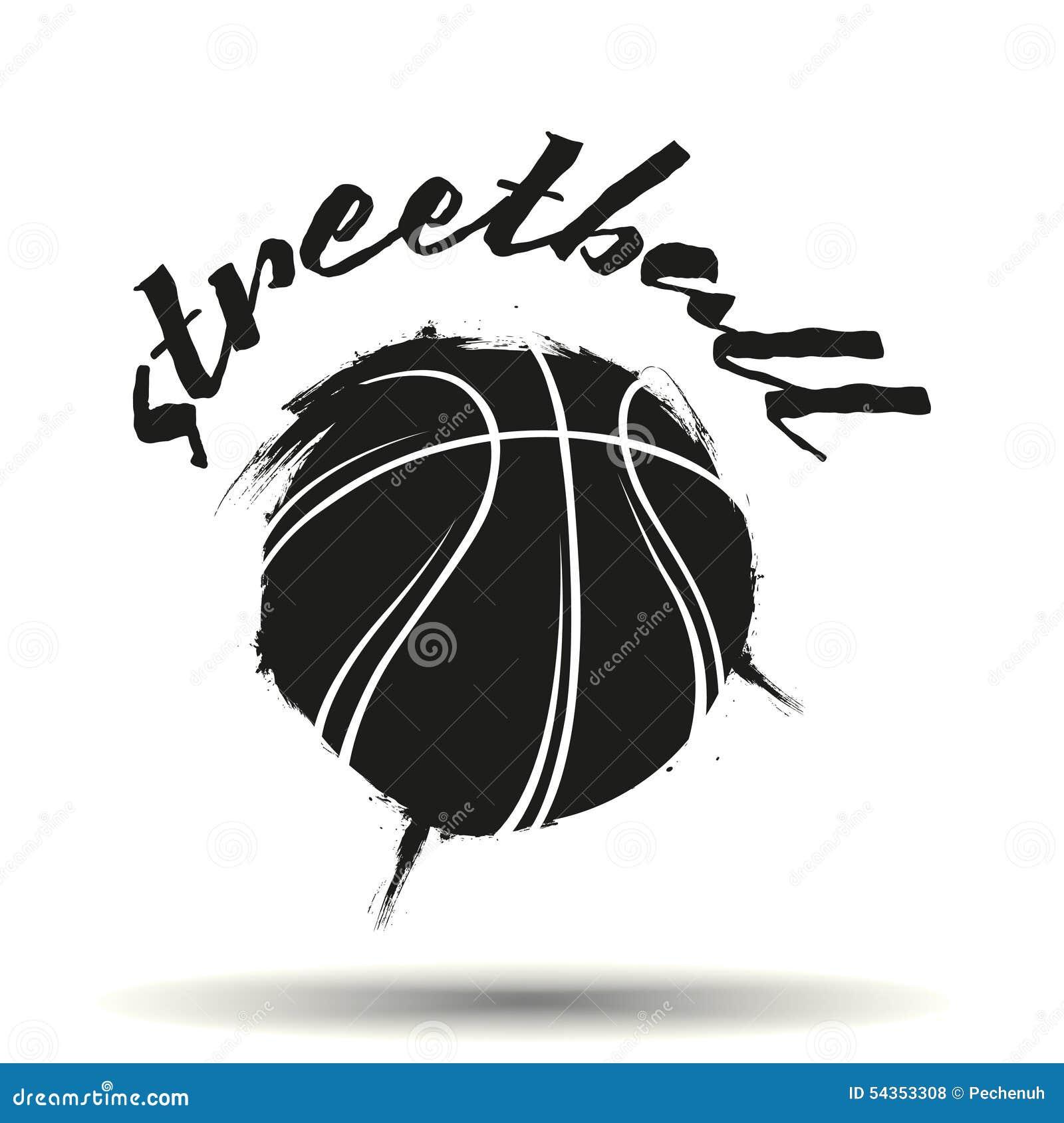 Streetball Logo Stock Vector - Image: 54353308