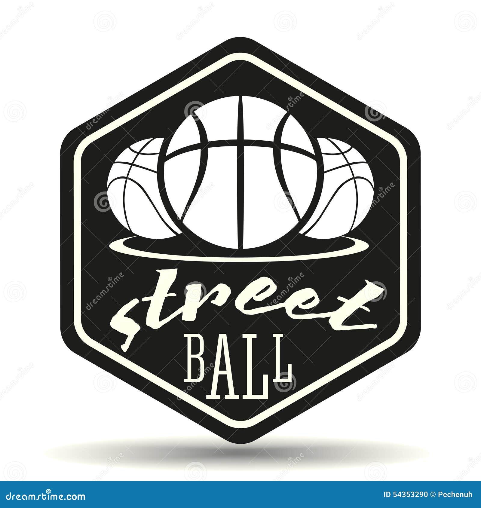 Streetball Logo Stock Vector - Image: 54353290