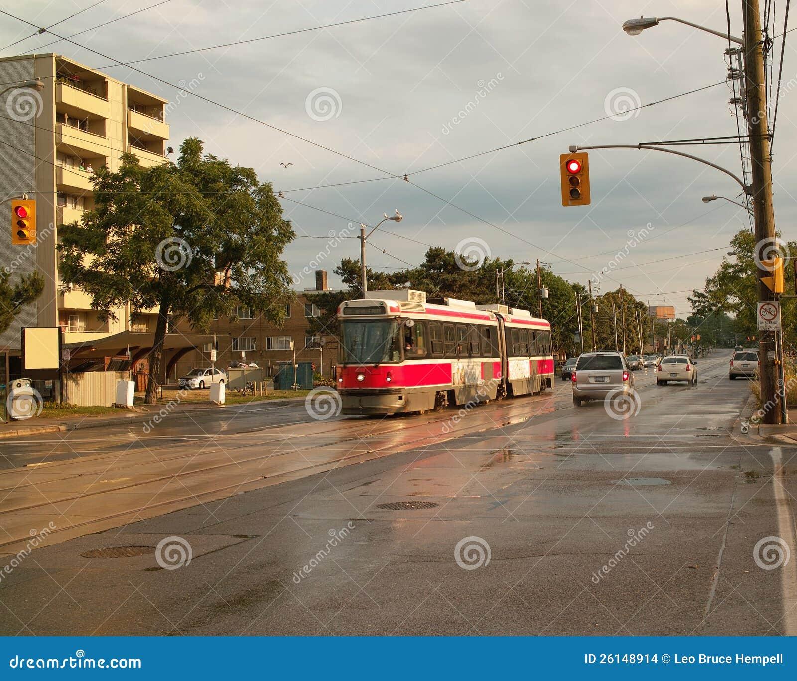 Streetcar, Toronto Ontario Canada