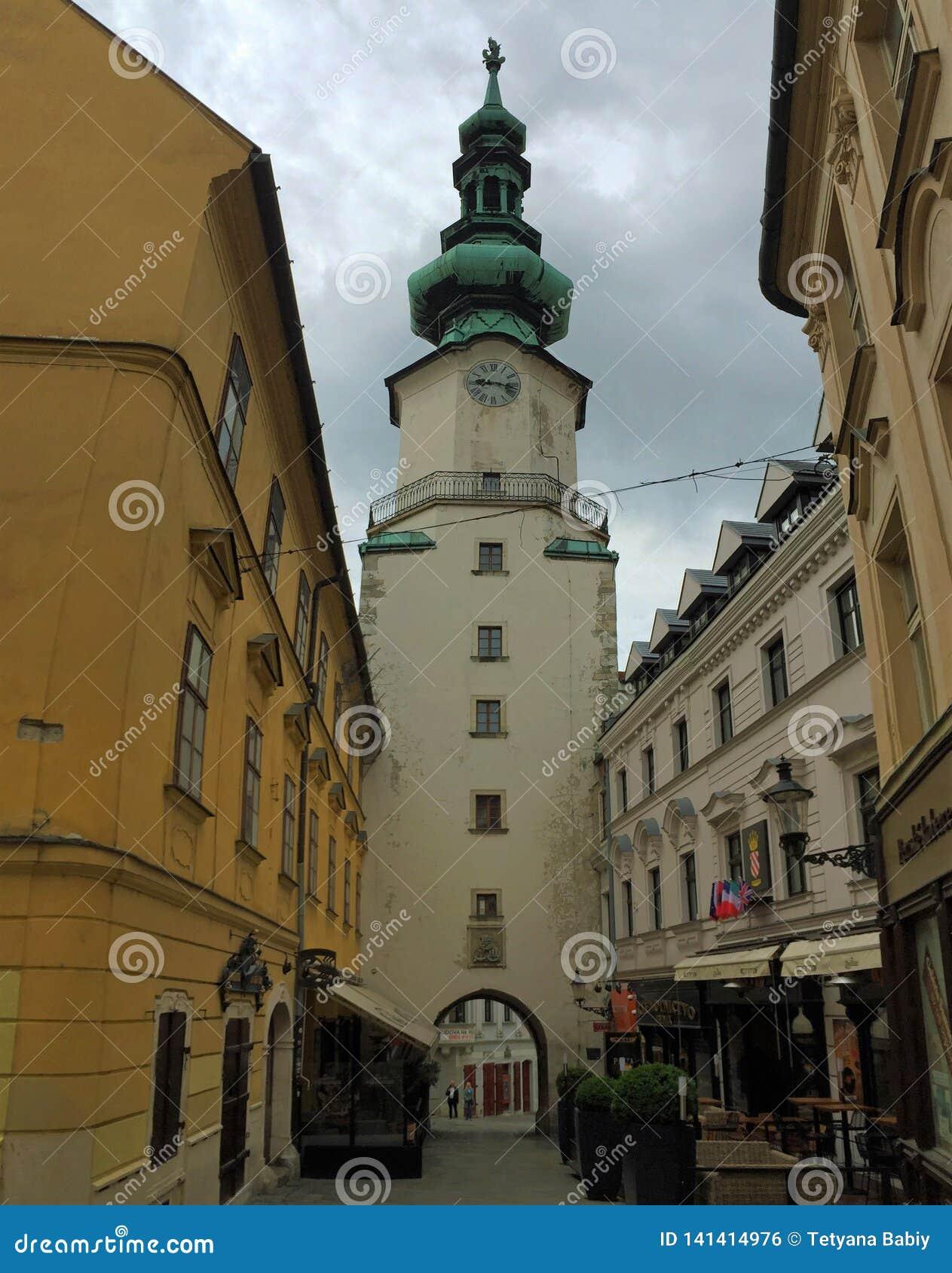 Streets of Bratislava, Slovakia -