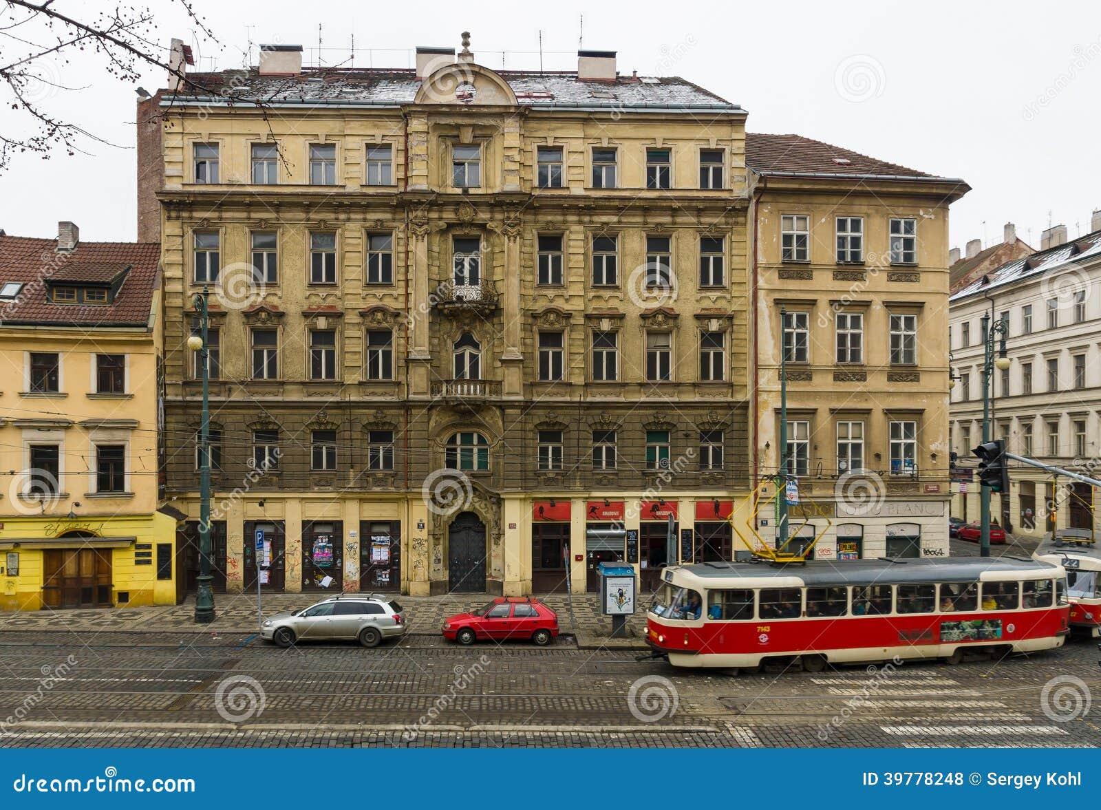 old tram prague street - photo #47