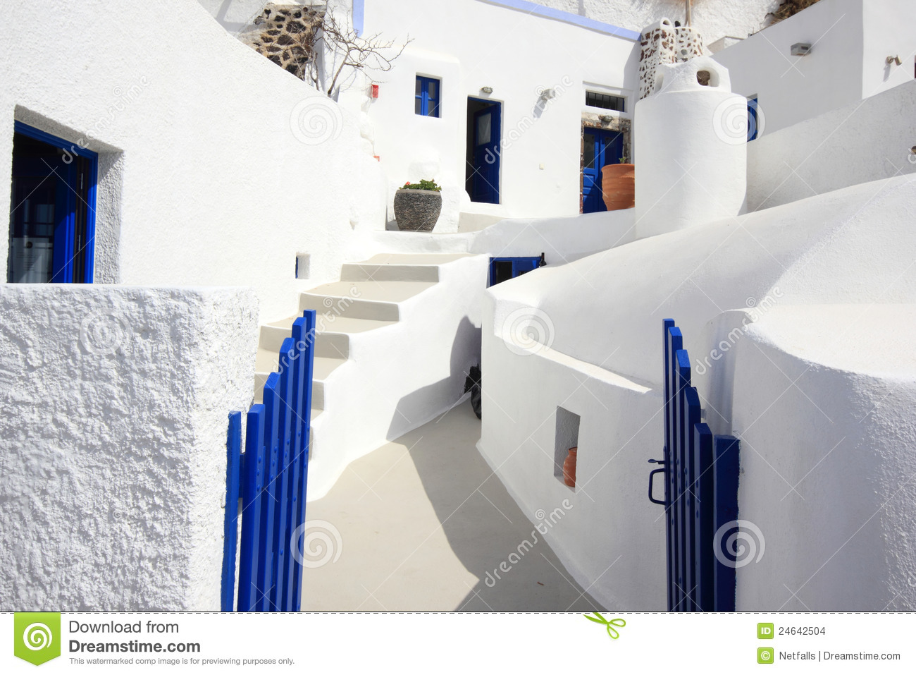 More similar stock images of ` The streets of Santorini `