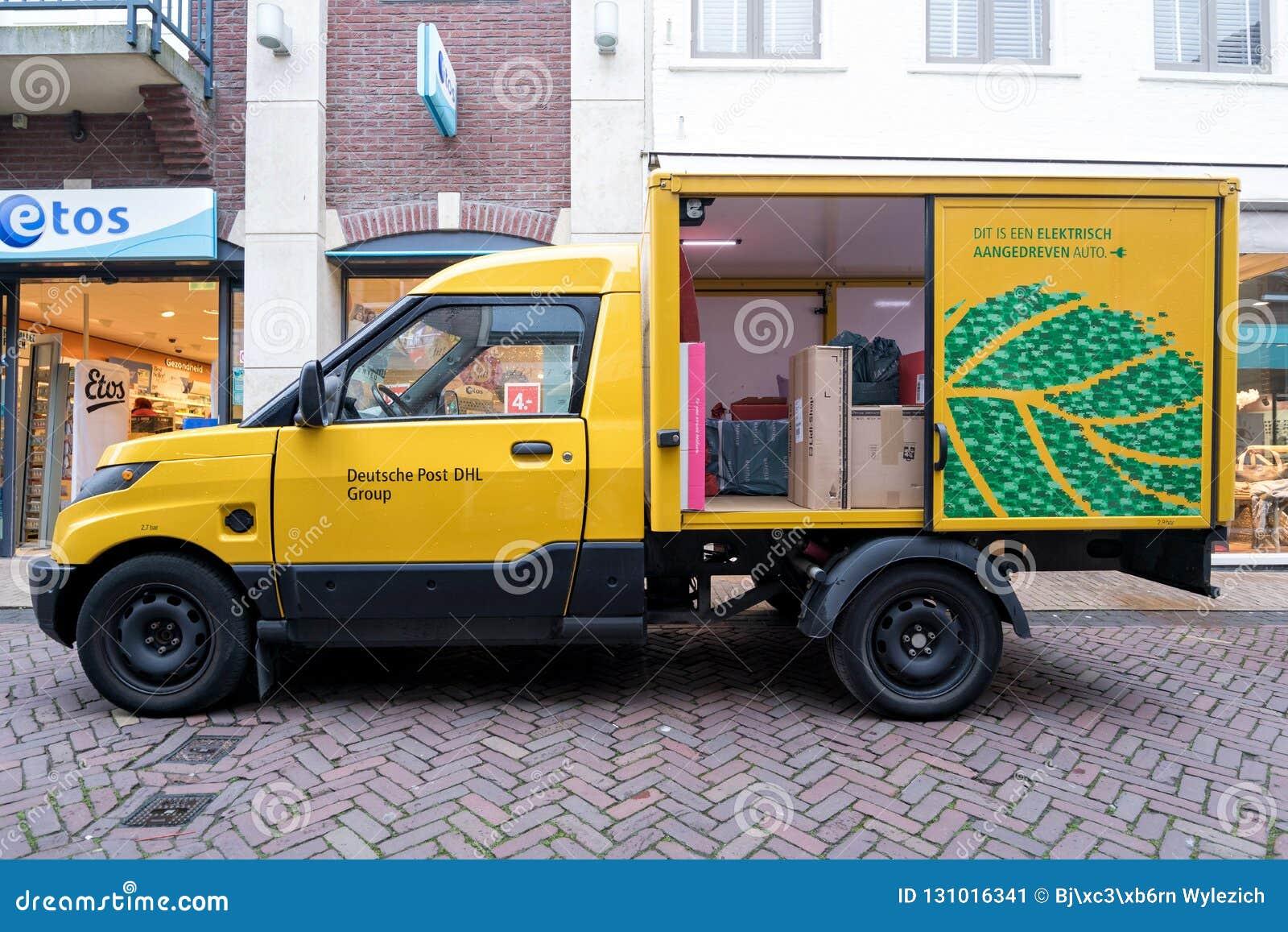 Streetscooter Arbeit Von Deutsche Post Dhl Redaktionelles Foto