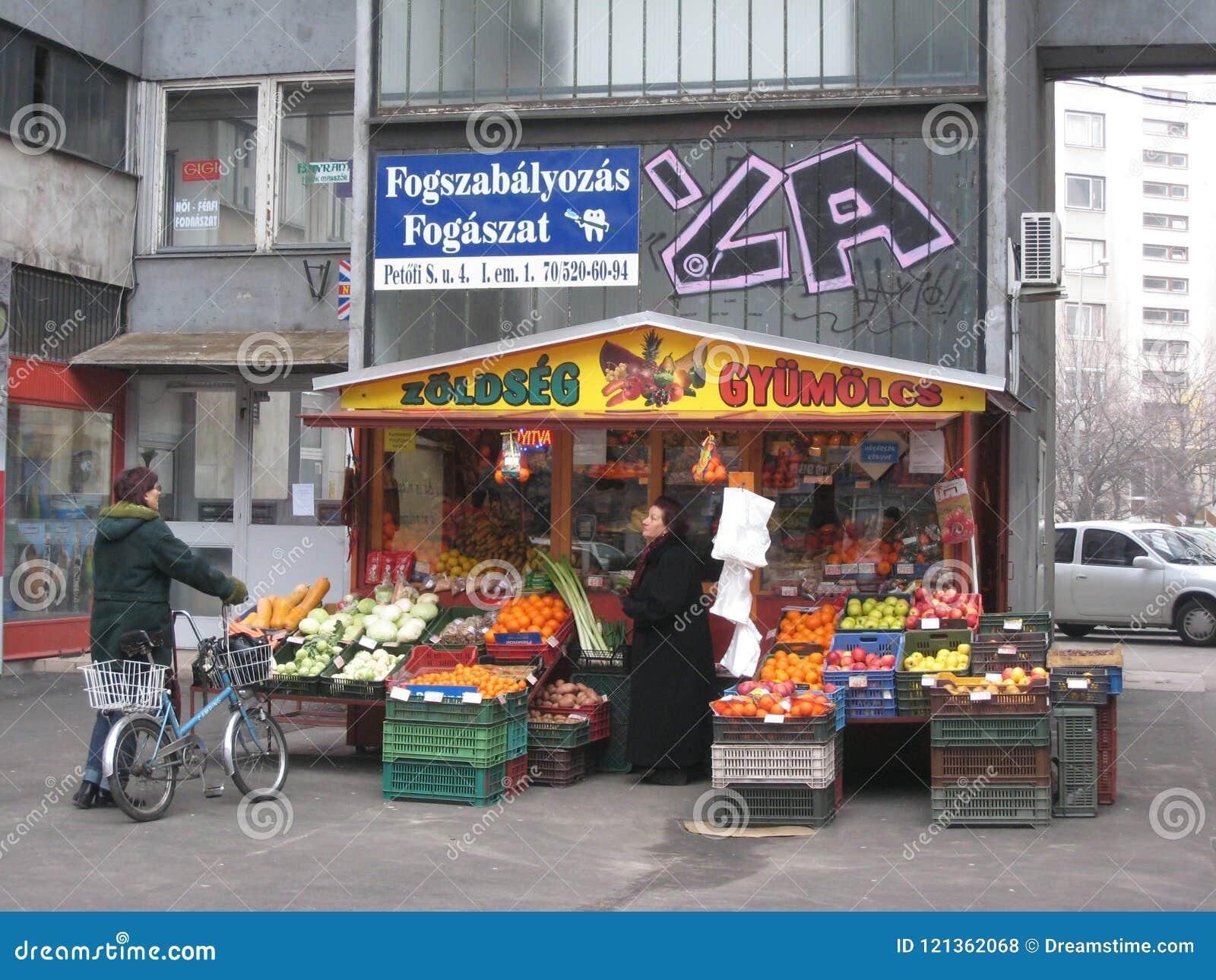 Streetstall, Kecskemet, Węgry
