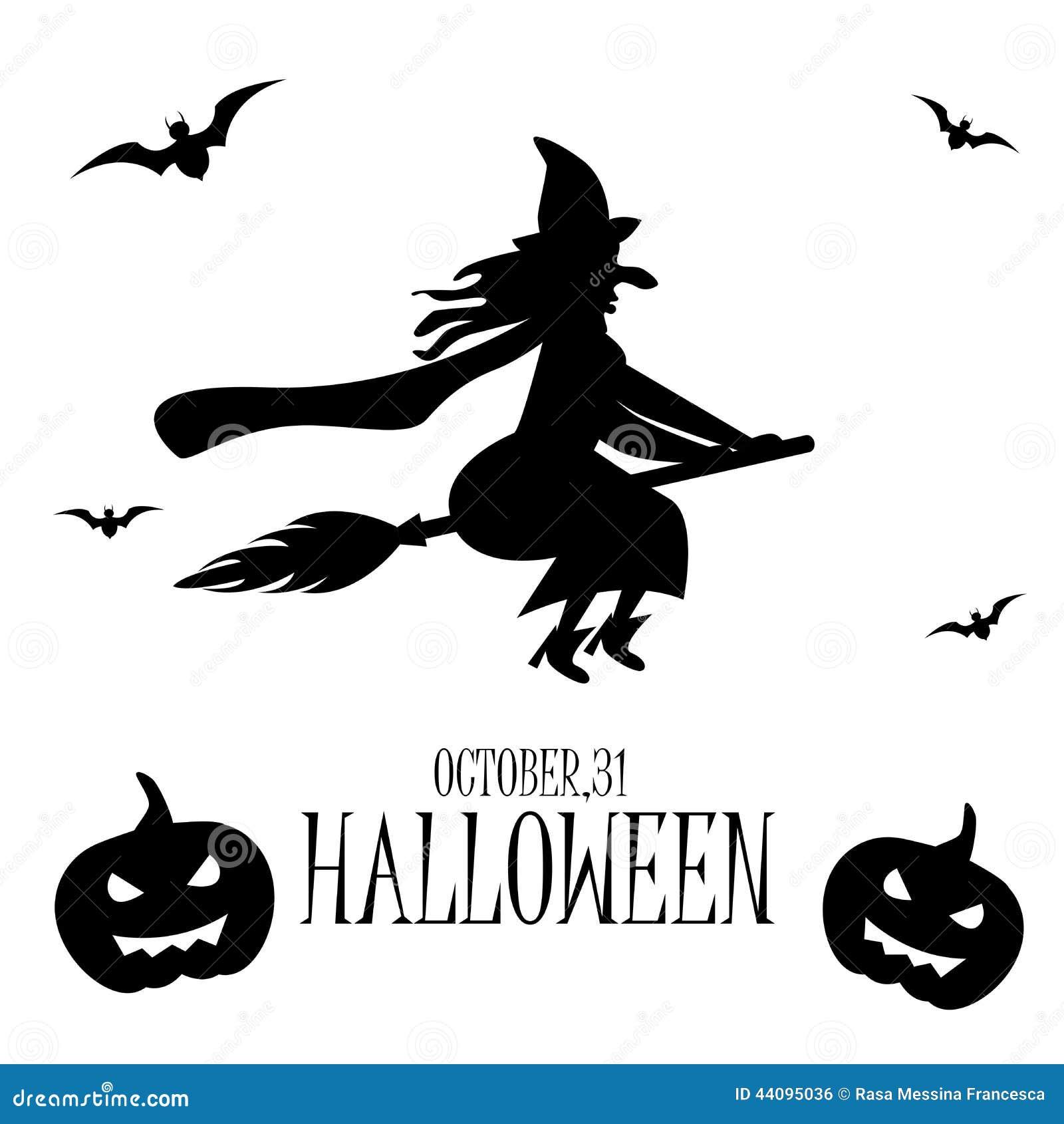 Strega di Halloween