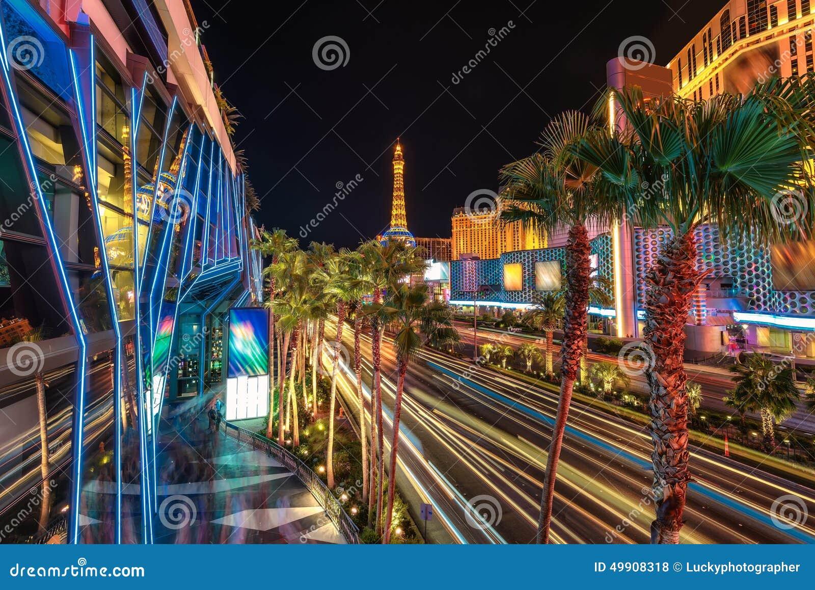 Las Vegas-Streifen-Hochzeits-Programm Karte Zazzle