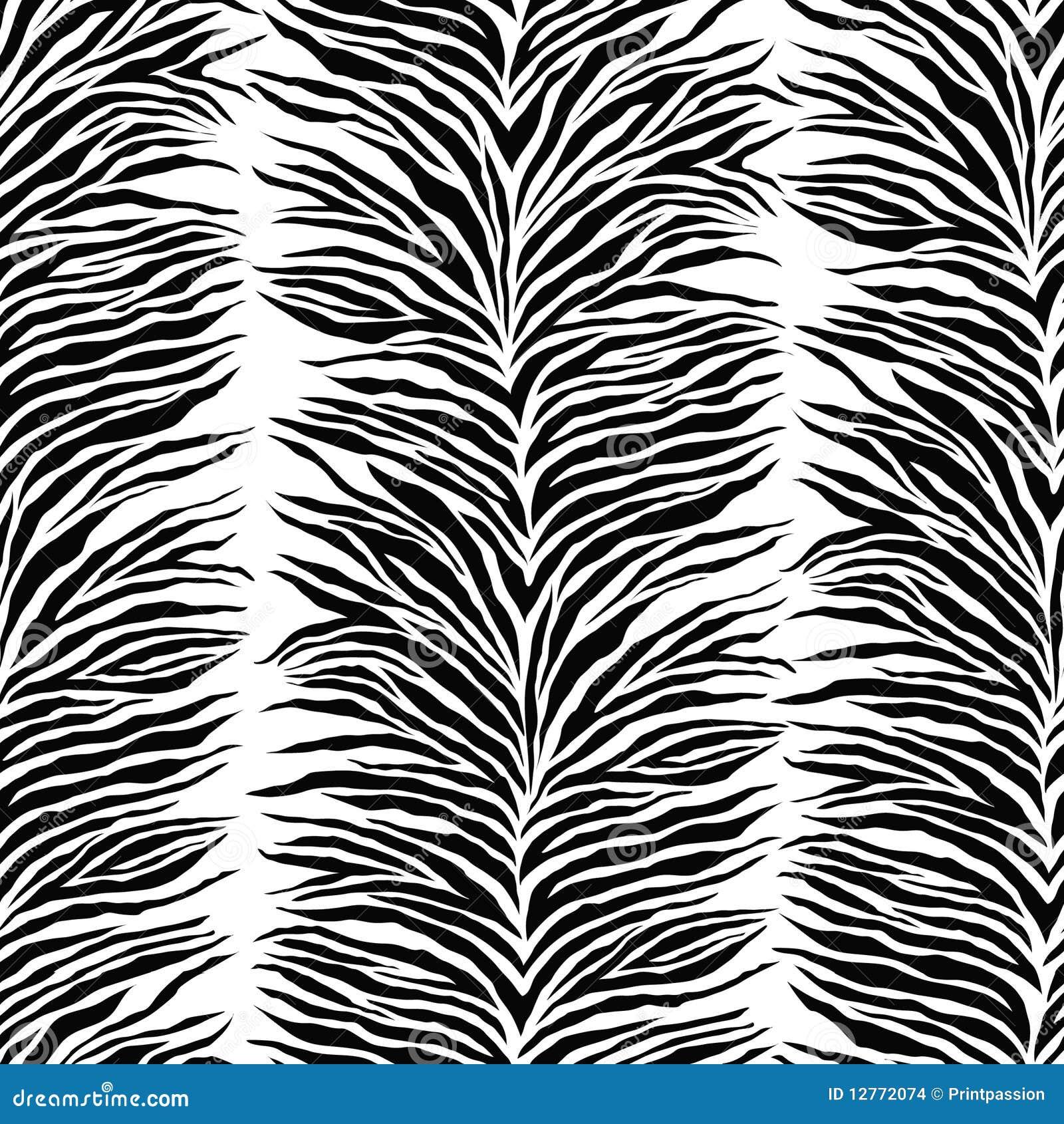 Streifen Zebradruck