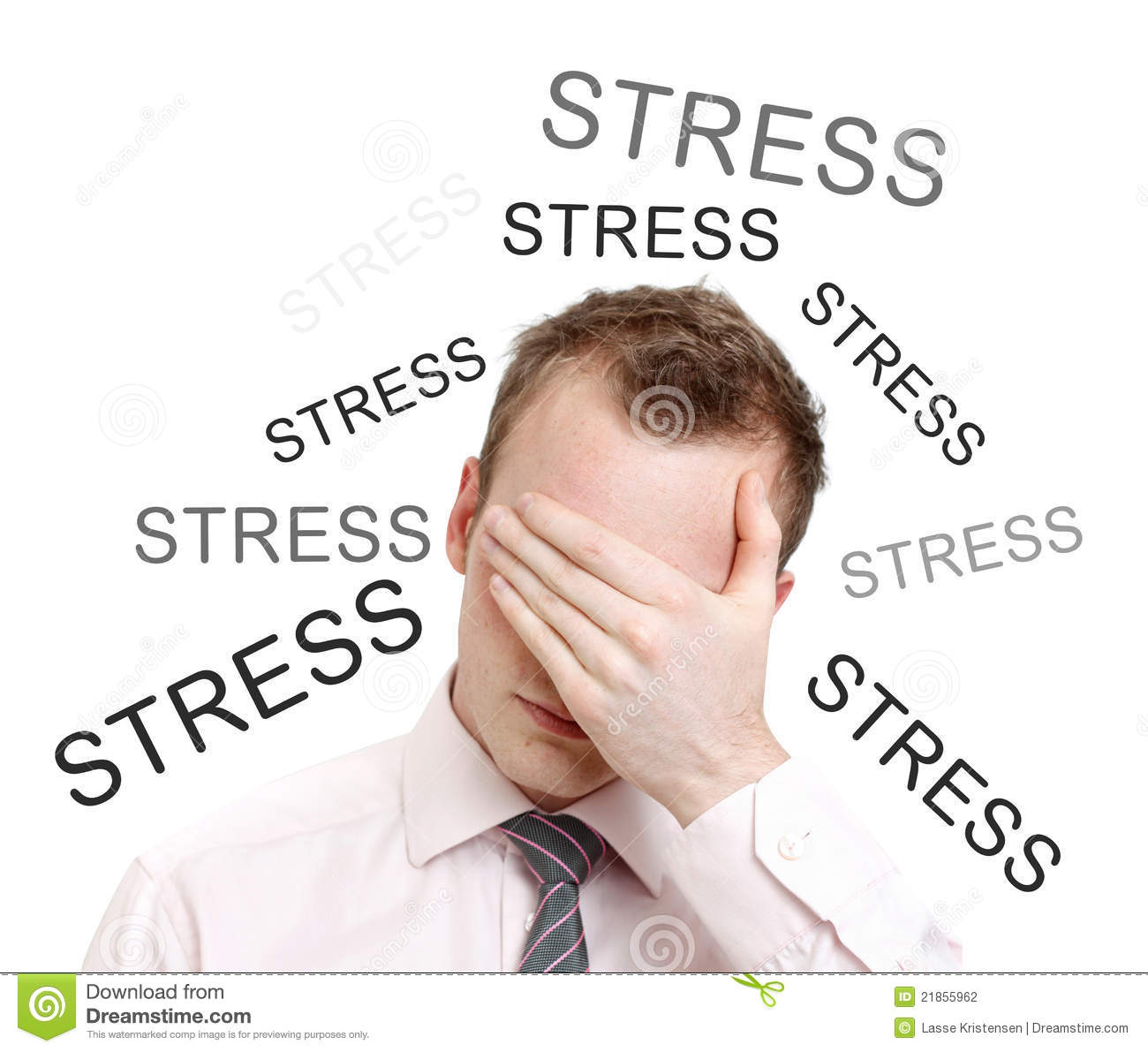 how to get stress feleaff