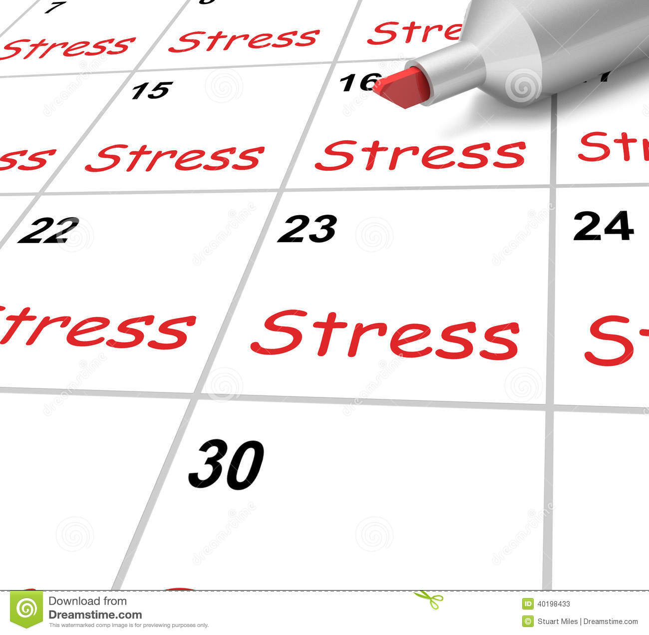 Short essay about stress management