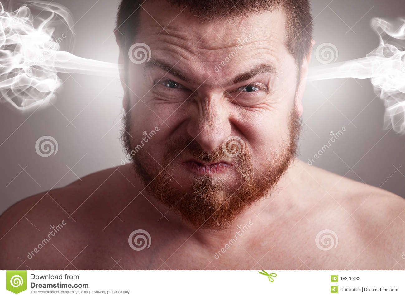 Download Stress Concept - Angry Man With Exploding Head Stock Photo - Image of anger, frustration: 18876432