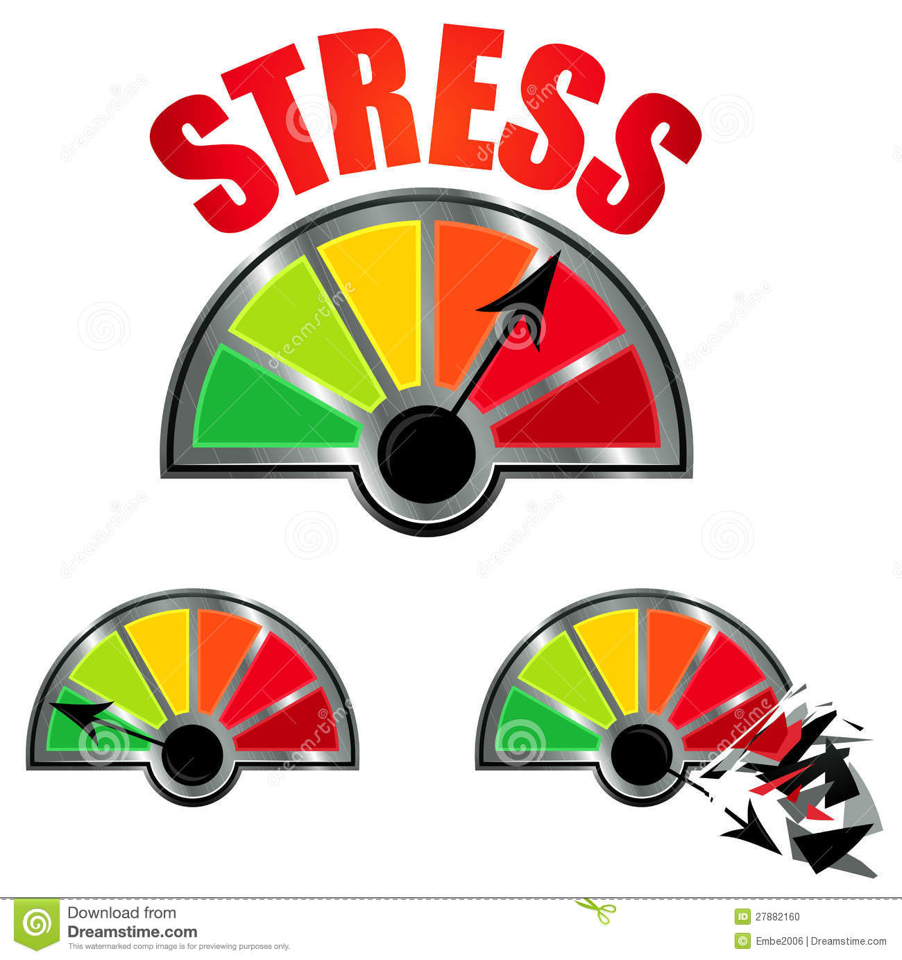 Clip Art Stress Clip Art stress stock illustrations 33169 level meter photo