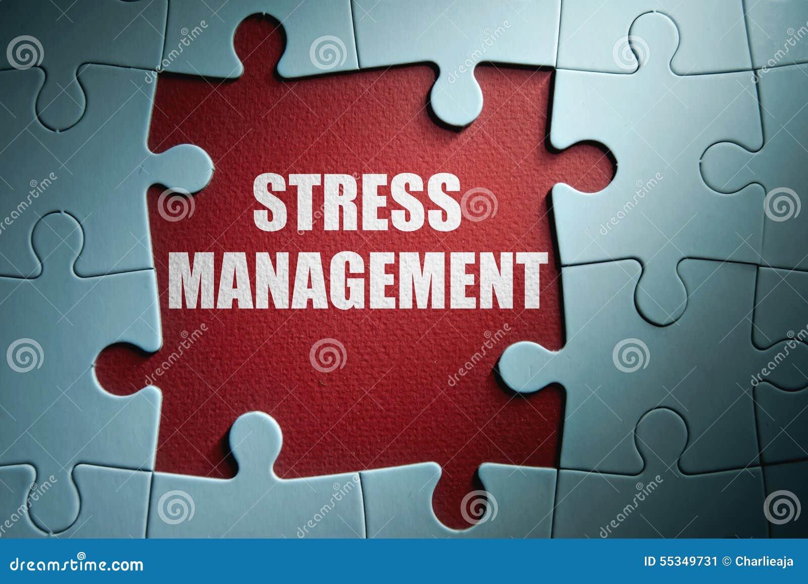 Stress Management Stock Photo Image 55349731