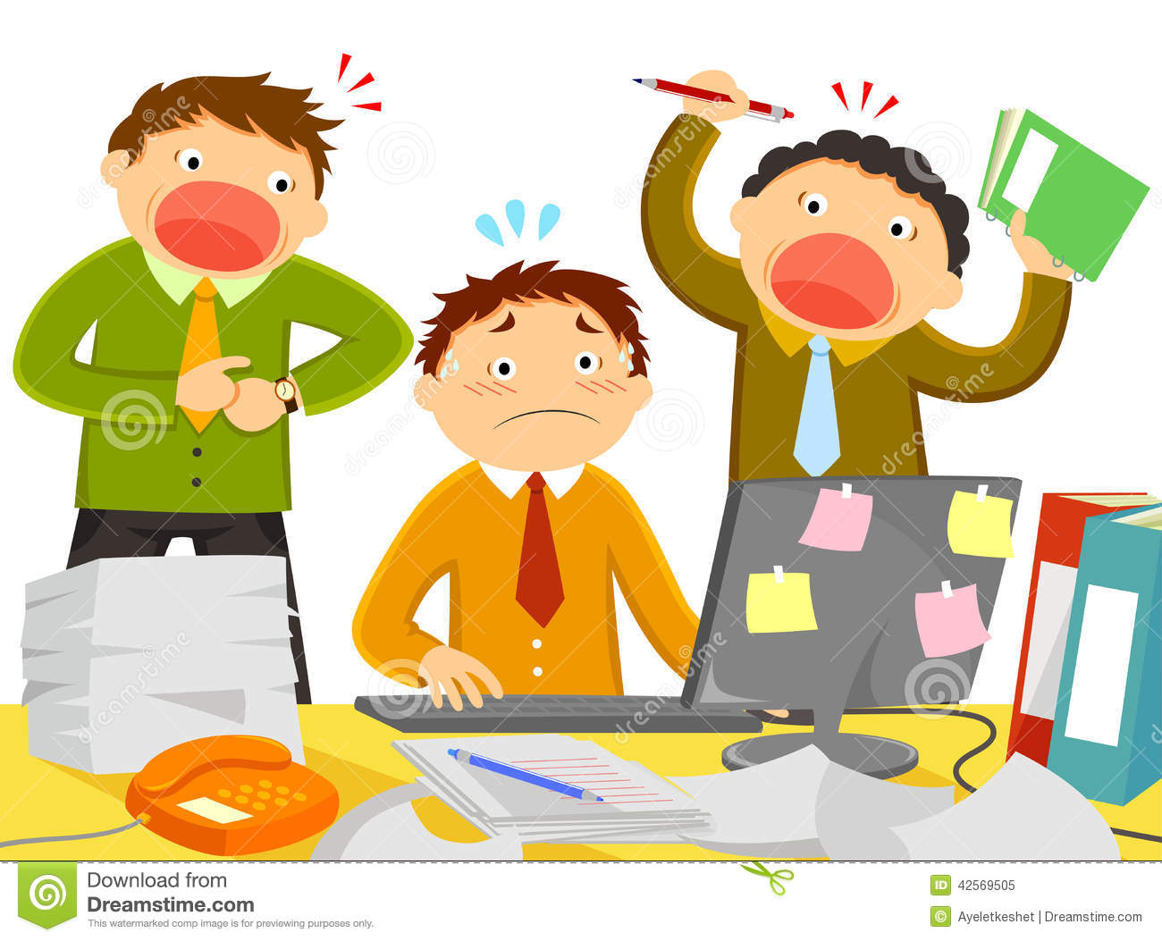 a discussion on work stress Work-related stress and sick leave due to stress-related illness have  and (5)  discussion of problem-solving and work strategies (pritchard et.