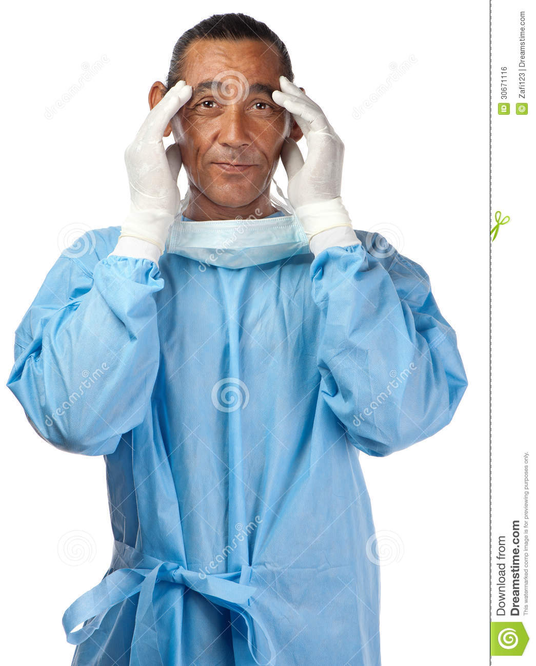 Stressed Doctor Royalty Free Stock Image - Image: 30671116