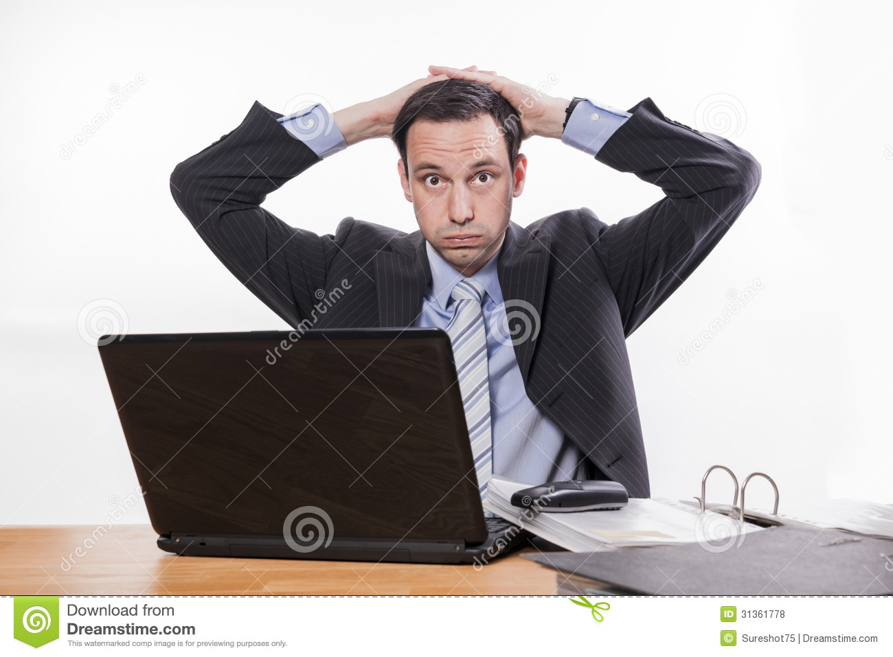 Office situations expressions stressed manager too much work