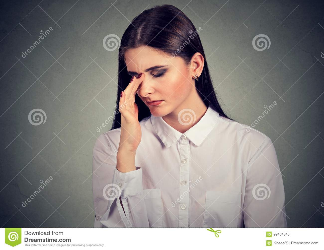 Stressed Sad Young Woman In A Desperate Situation Looking Down Stock Image Image Of Business Frustrated 99464845 Another way to say desperate situation? dreamstime com