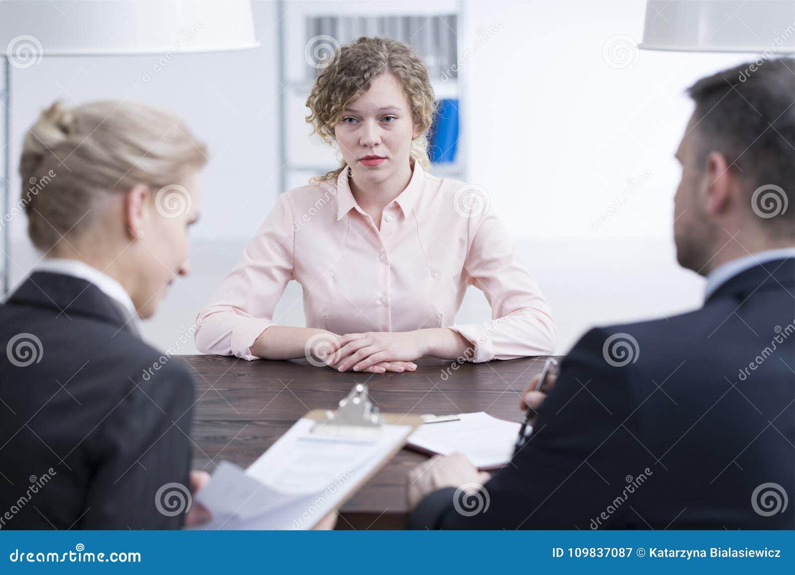 Girl looking for meetings