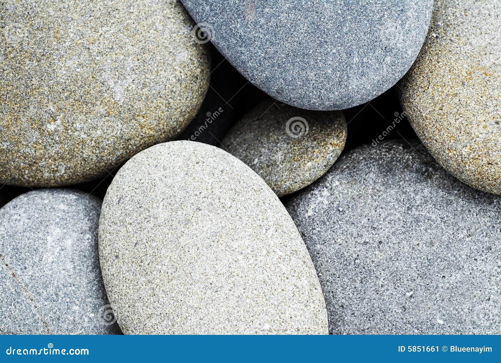Streszczenie zaokrąglenie kamieni