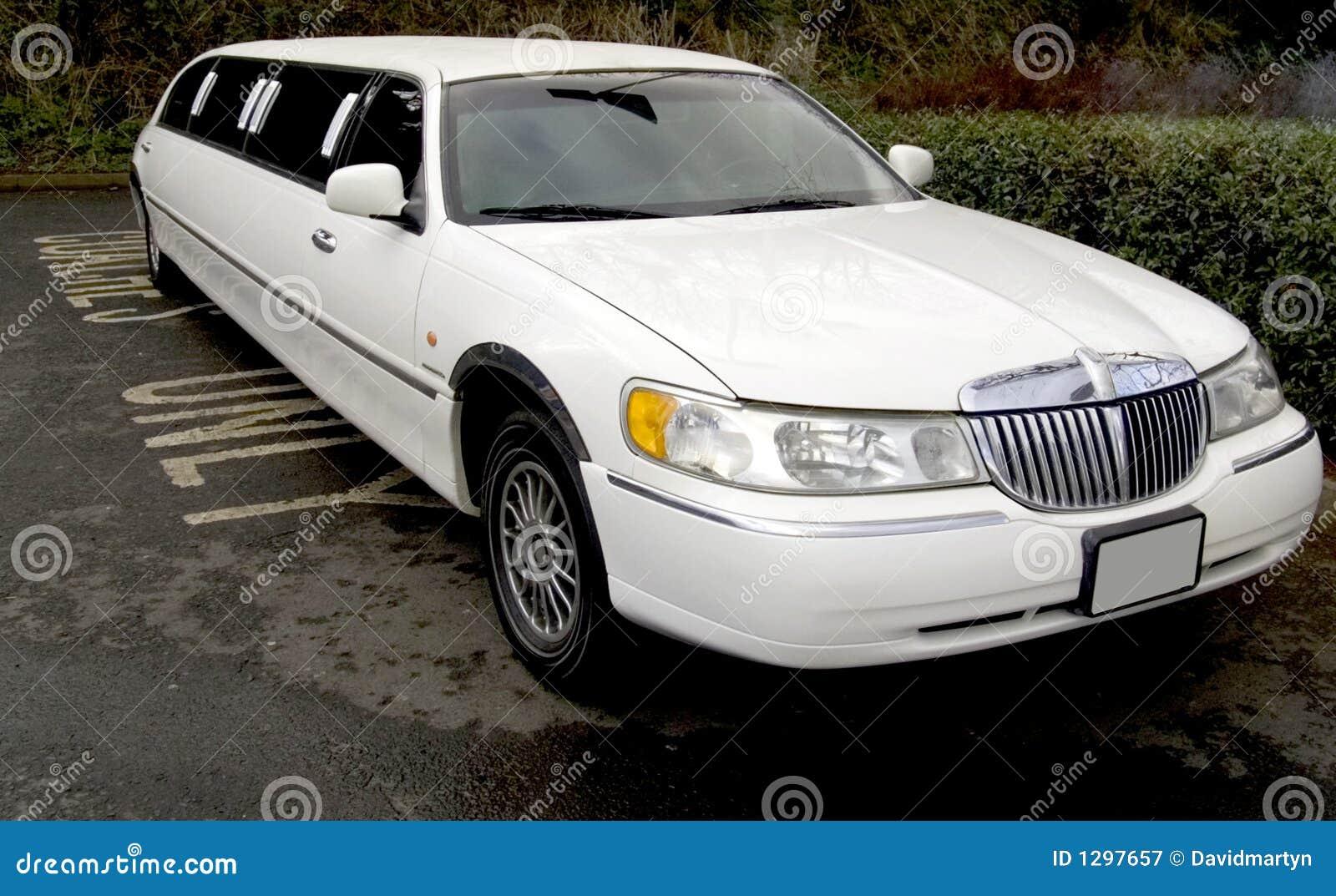 Stretch Limo Limousine Big Car Stock Image Image 1297657