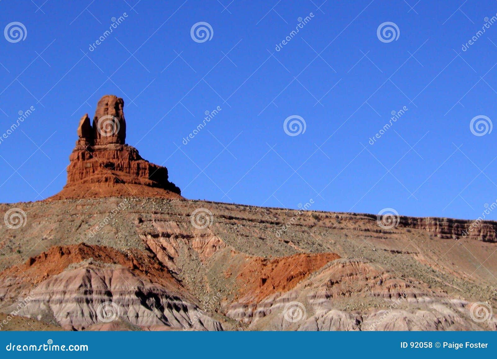 Striations de vallée de monument