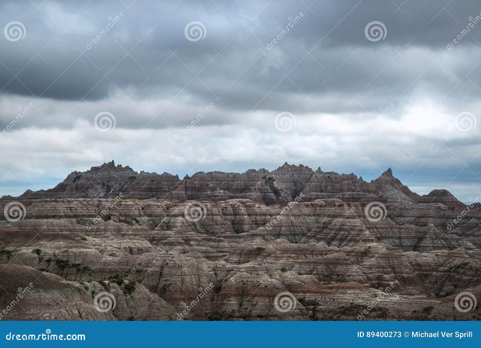 Striations no parque nacional do ermo