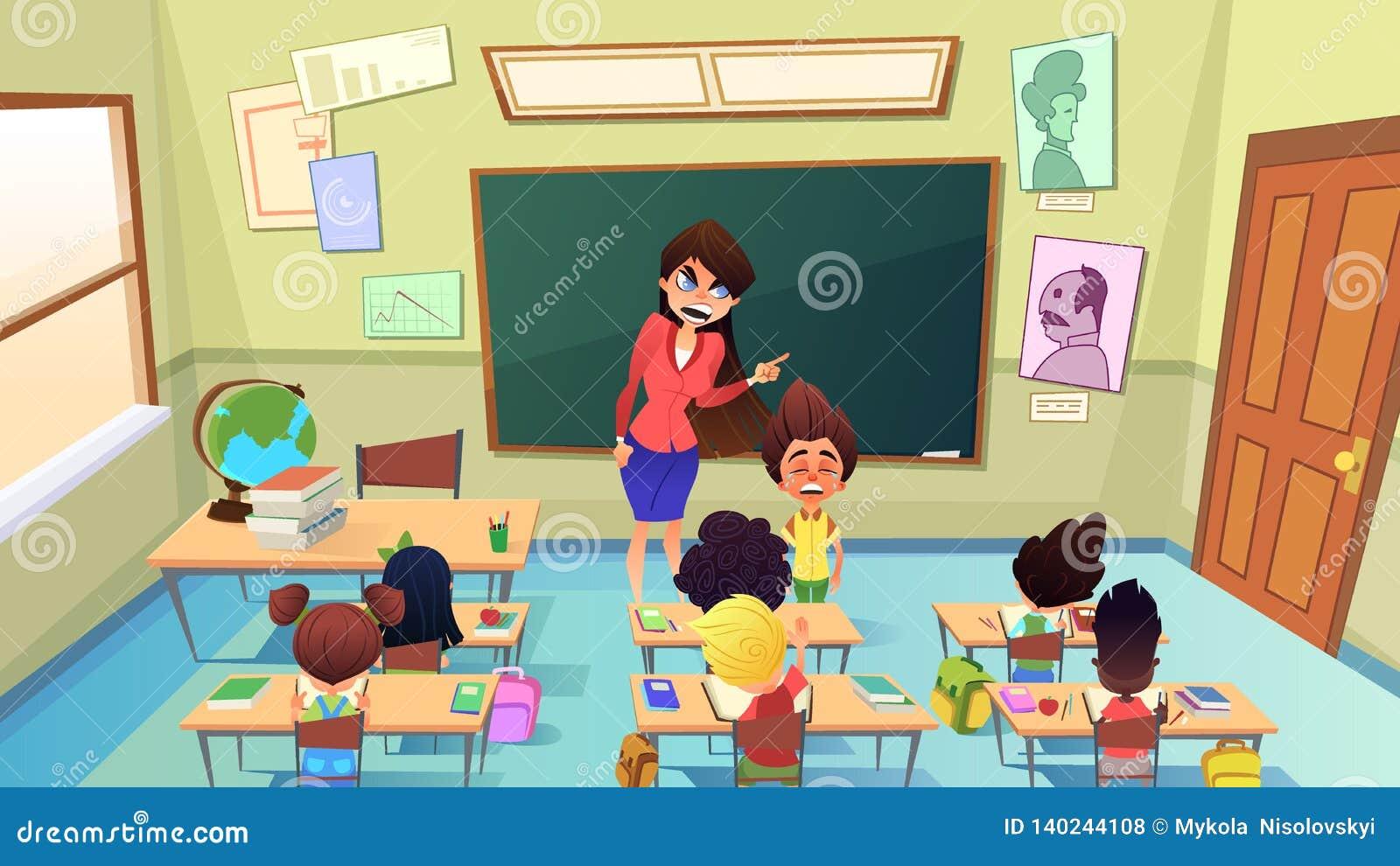 A Naughty Boy Vector Illustration   CartoonDealer.com ...