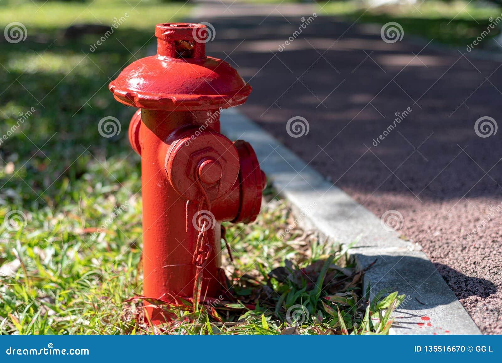 Stridighet för röd brand på grässlättbrandposten
