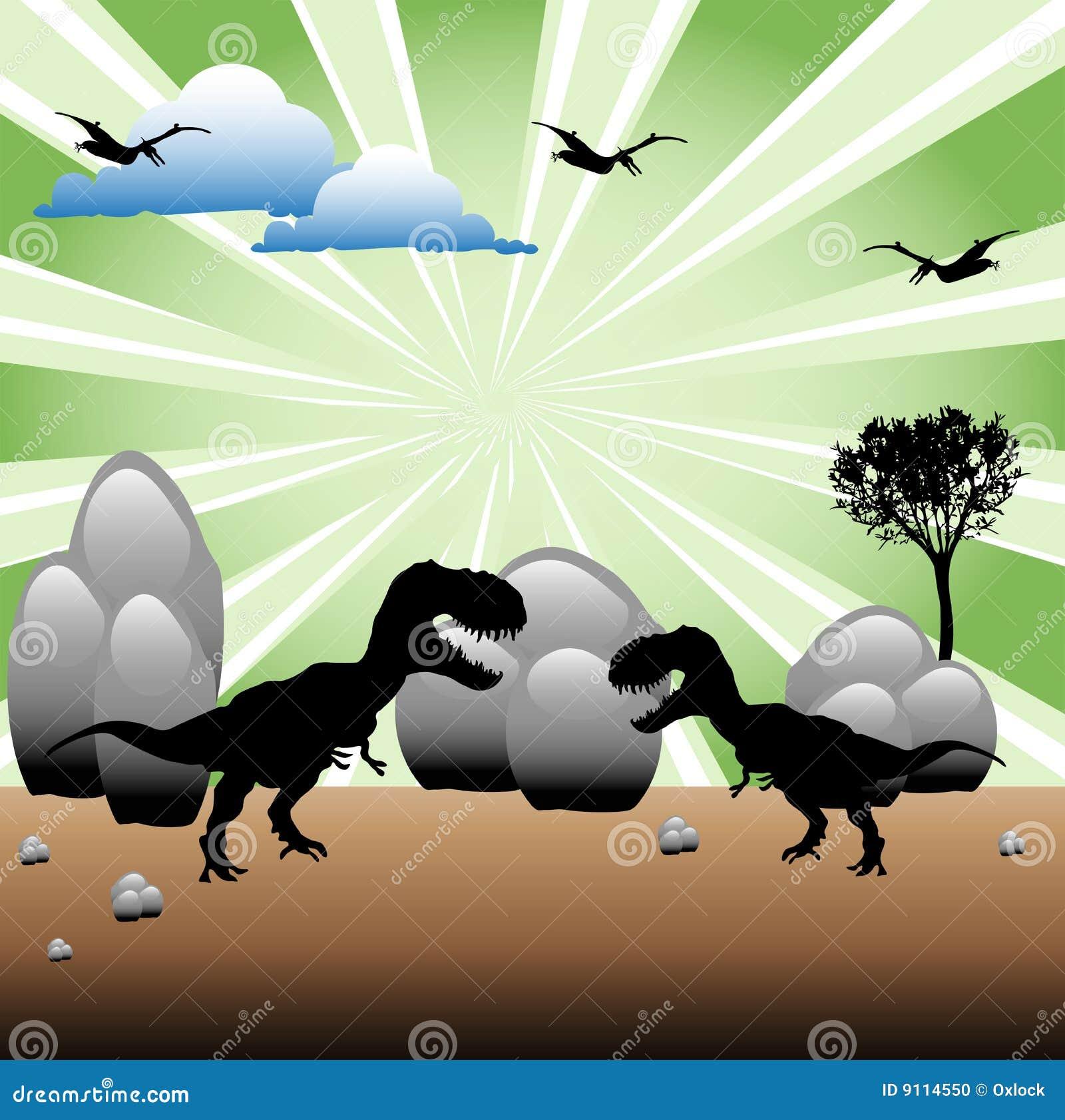 Strijd t-Rex