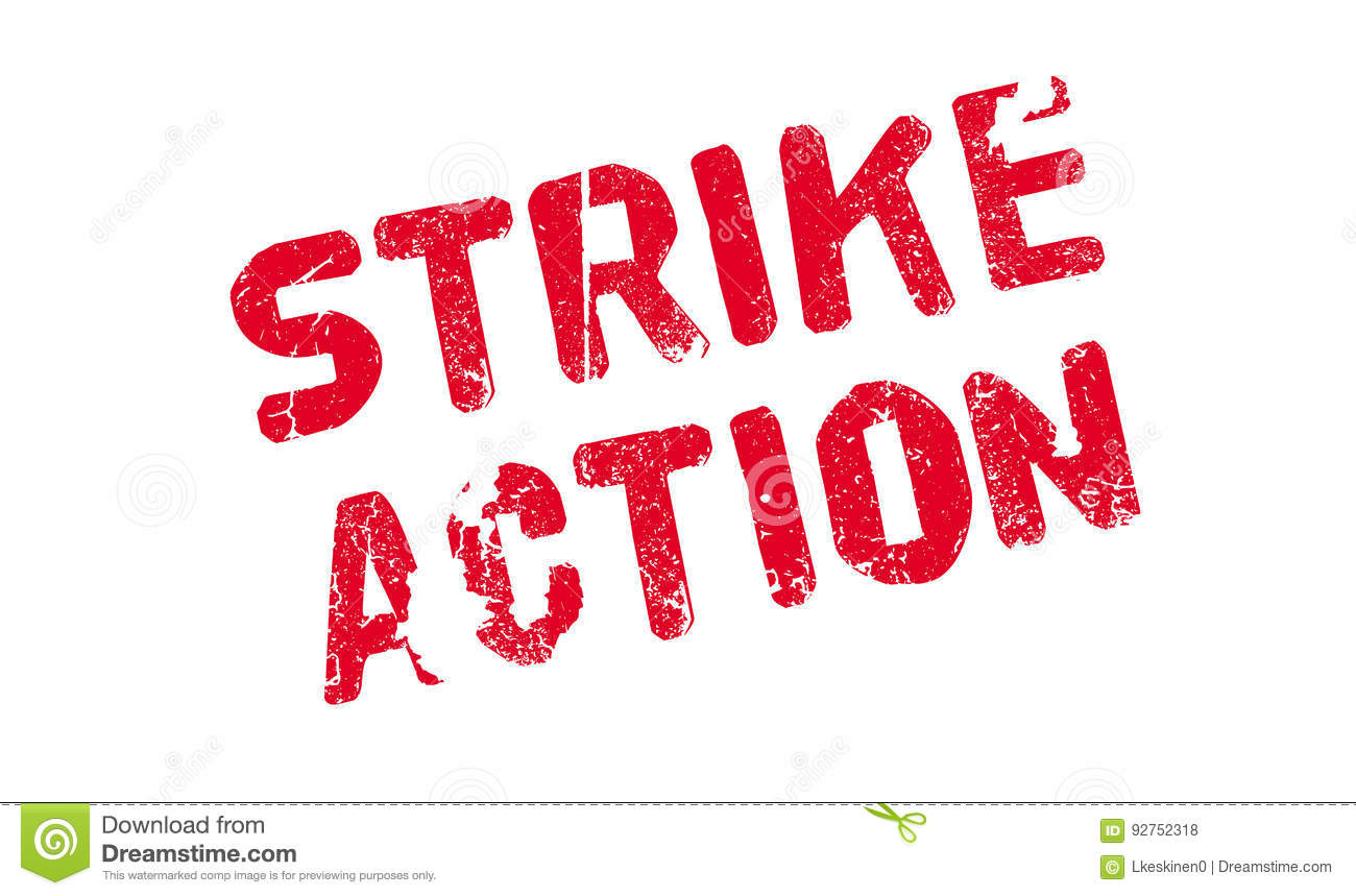 Taking part in industrial action and strikes