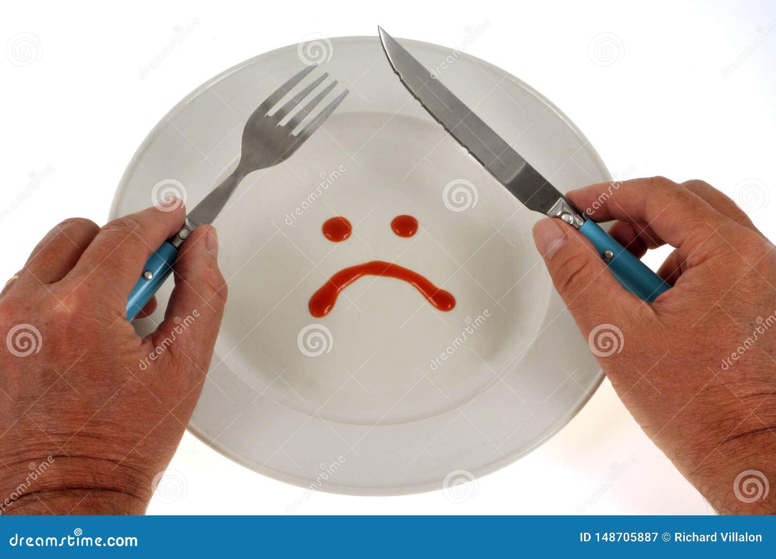 Strikt dieetconcept