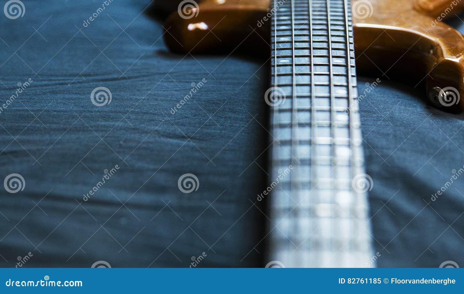 5 String Bass Guitar Wallpaper Stock Image Image Of Bass Beauty