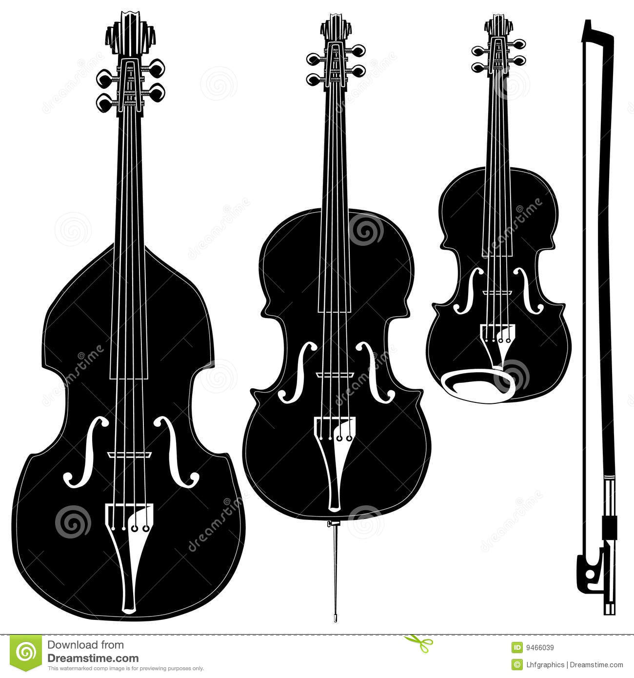Stringed Instruments Royalty Free Stock Images Image