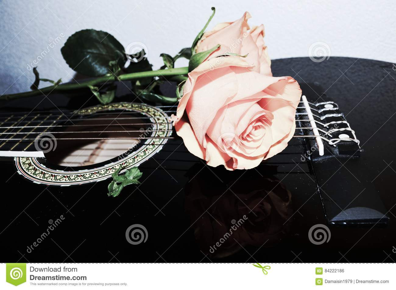 Strings and roses, symbols