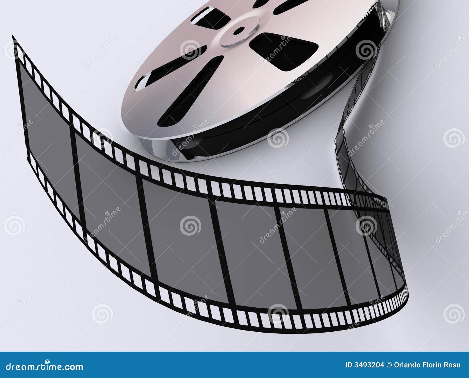 Strip film reel