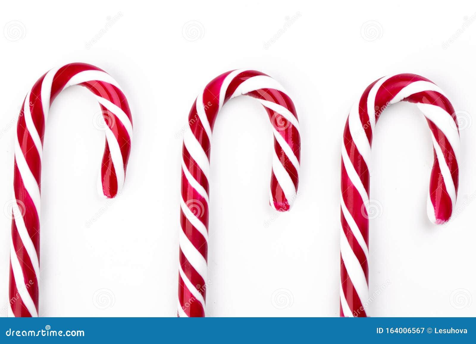 13 Strip Red Christmas Candy Canes Stockbild   Bild von zucker, noel ...